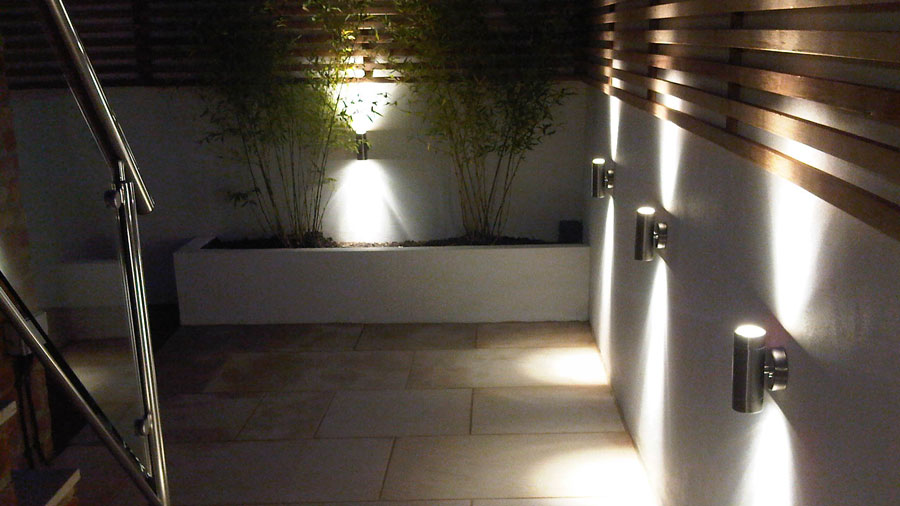 Garden lighting in Cheltenham